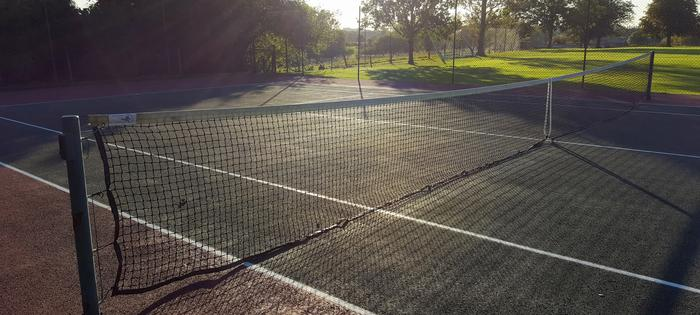 The courts at Hendred