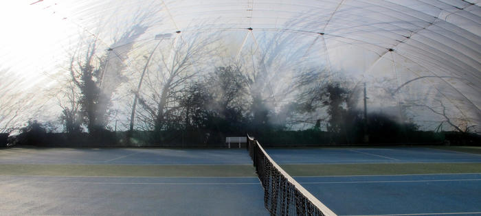 Inside the Excel Tennis bubble, Royal Victoria Park