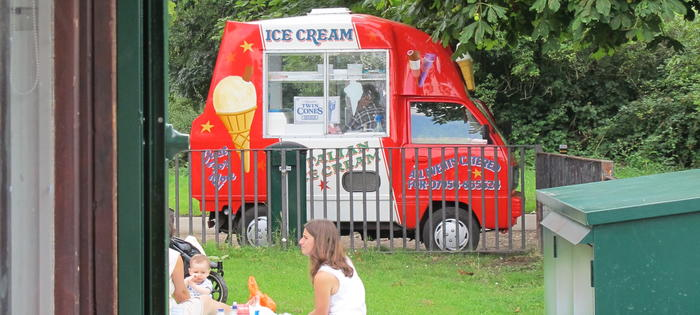 Stop for an ice cream at Tooting Bec