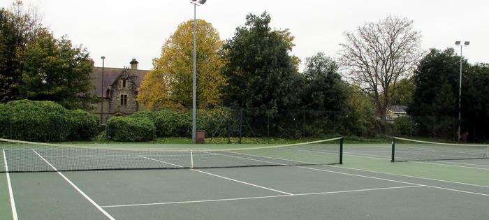 St Michaels Park courts