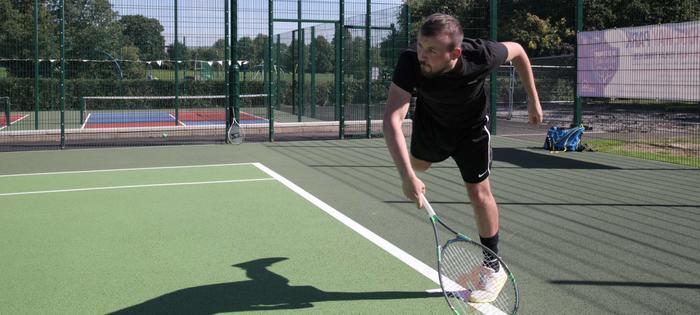 Ridgeway Park - serving up an ace!