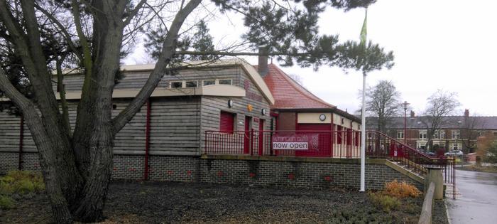 The Verandah Cafe, Richardson Dees Park