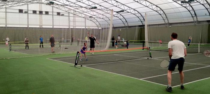 Indoor at the Widnes Academy